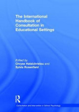 Omslag - The International Handbook of Consultation in Educational Settings