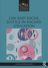 Omslag - Law and Social Justice in Higher Education