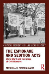Omslag - The Espionage and Sedition Acts