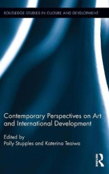 Omslag - Contemporary Perspectives on Art and International Development