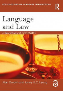 Language and Law av Alan Durant og Janny Leung (Heftet)