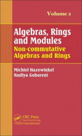 Omslag - Algebras, Rings and Modules: Volume 2