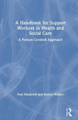 Omslag - A Handbook for Support Workers in Health and Social Care