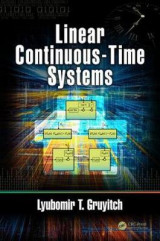 Omslag - Linear Continuous-Time Systems