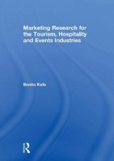 Omslag - Marketing Research for the Tourism, Hospitality and Events Industries