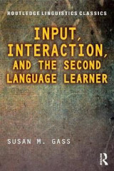 Omslag - Input, Interaction, and the Second Language Learner