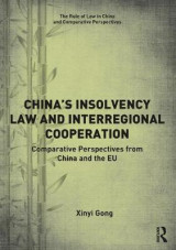 Omslag - China's Insolvency Law and Interregional Cooperation