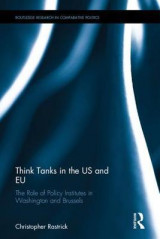 Omslag - Think Tanks in the US and EU