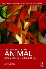 Omslag - The Concept of the Animal and Modern Theories of Art