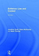 Omslag - Evidence: Law and Context