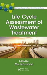 Omslag - Life Cycle Assessment of Wastewater Treatment
