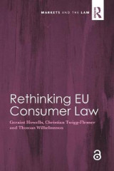 Omslag - Rethinking EU Consumer Law