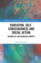 Omslag - Education, Self-consciousness and Social Action