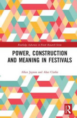 Omslag - Power, Construction and Meaning in Festivals