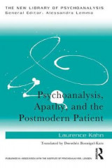Omslag - Psychoanalysis, Apathy, and the Postmodern Patient