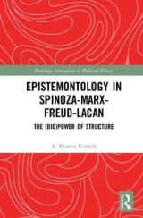 Omslag - Epistemontology in Spinoza-Marx-Freud-Lacan