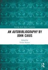 Omslag - An Autobibliography by John Caius