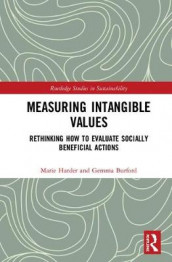 Measuring Intangible Values av Gemma Burford og Marie Harder (Innbundet)