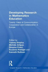 Omslag - Developing Research in Mathematics Education