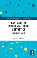 Omslag - Kant and the Reorientation of Aesthetics