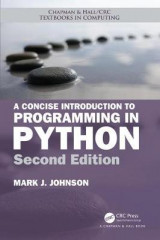 Omslag - A Concise Introduction to Programming in Python, Second Edition