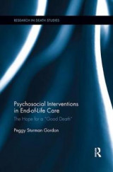 Omslag - Psychosocial Interventions in End-of-Life Care