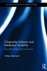 Omslag - Citizenship Inclusion and Intellectual Disability