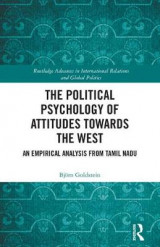 Omslag - The Political Psychology of Attitudes towards the West