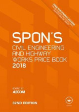 Omslag - Spon's Civil Engineering and Highway Works Price Book 2018