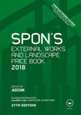 Omslag - Spon's External Works and Landscape Price Book 2018