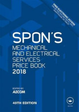 Omslag - Spon's Mechanical and Electrical Services Price Book 2018