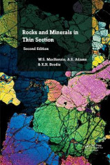 Omslag - Rocks and Minerals in Thin Section, Second Edition
