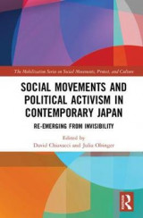 Omslag - Social Movements and Political Activism in Contemporary Japan