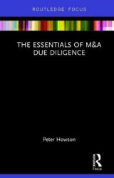 Omslag - The Essentials of M&A Due Diligence
