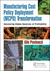Omslag - Manufacturing Cost Policy Deployment (MCPD) Transformation
