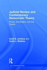 Omslag - Judicial Review and Contemporary Democratic Theory