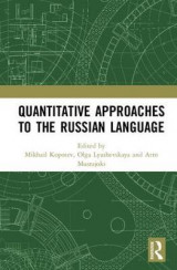 Omslag - Quantitative Approaches to the Russian Language