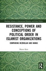 Omslag - Resistance, Power and Conceptions of Political Order in Islamist Organizations