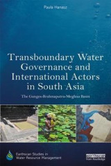Omslag - Transboundary Water Governance and International Actors in South Asia