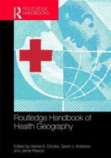 Omslag - Routledge Handbook of Health Geography