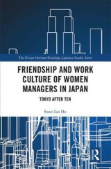 Omslag - Friendship and Work Culture of Women Managers in Japan