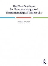 Omslag - The New Yearbook for Phenomenology and Phenomenological Philosophy
