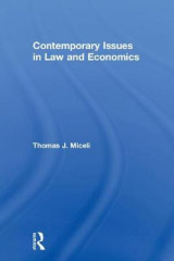 Omslag - Contemporary Issues in Law and Economics