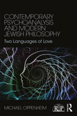 Omslag - Contemporary Psychoanalysis and Modern Jewish Philosophy