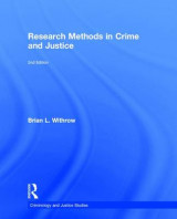 Omslag - Research Methods in Crime and Justice