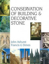 Omslag - Conservation of Building and Decorative Stone