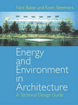 Omslag - Energy and Environment in Architecture