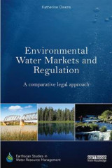 Omslag - Environmental Water Markets and Regulation
