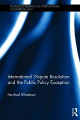 Omslag - International Dispute Resolution and the Public Policy Exception