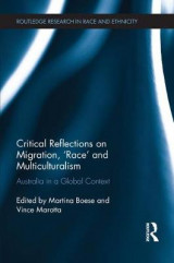 Omslag - Critical Reflections on Migration, 'Race' and Multiculturalism